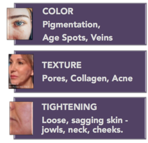 pigmentation, texture, age spots, skin, tightening, collagen, acne, encino, sherman oaks, cosmetic injectables center