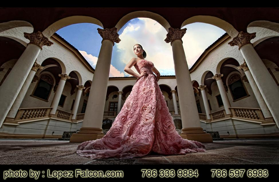 Biltmore Miami Quince Photo Shoot Photography Quince Party Quince Dresses at Biltmore Quinces Dress Miami