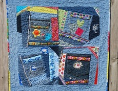 "Totally Crazy Quilt Pattern - ""Crazy for Denim"""