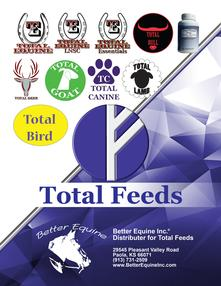 Total Feeds Better Equine Distributer
