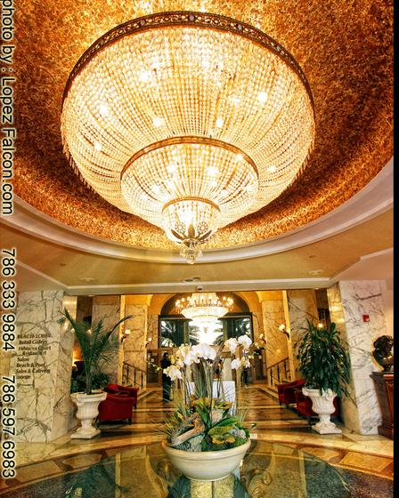 Miami Beach resort and spa Quinceanera Party decoration stage ...