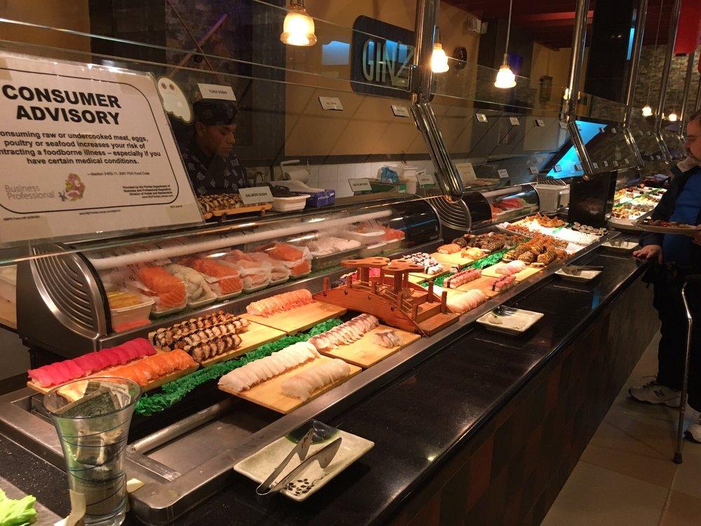 Pleasing Ginza Japanese Buffet Sushi Seafood North Miami Beach Download Free Architecture Designs Sospemadebymaigaardcom