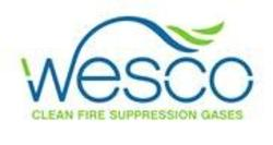 Wesco Clean Fire Suppression Gases Logo