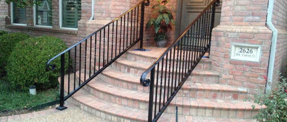 J Amp J Fencing Pros Hand Railing Exterior Handrails