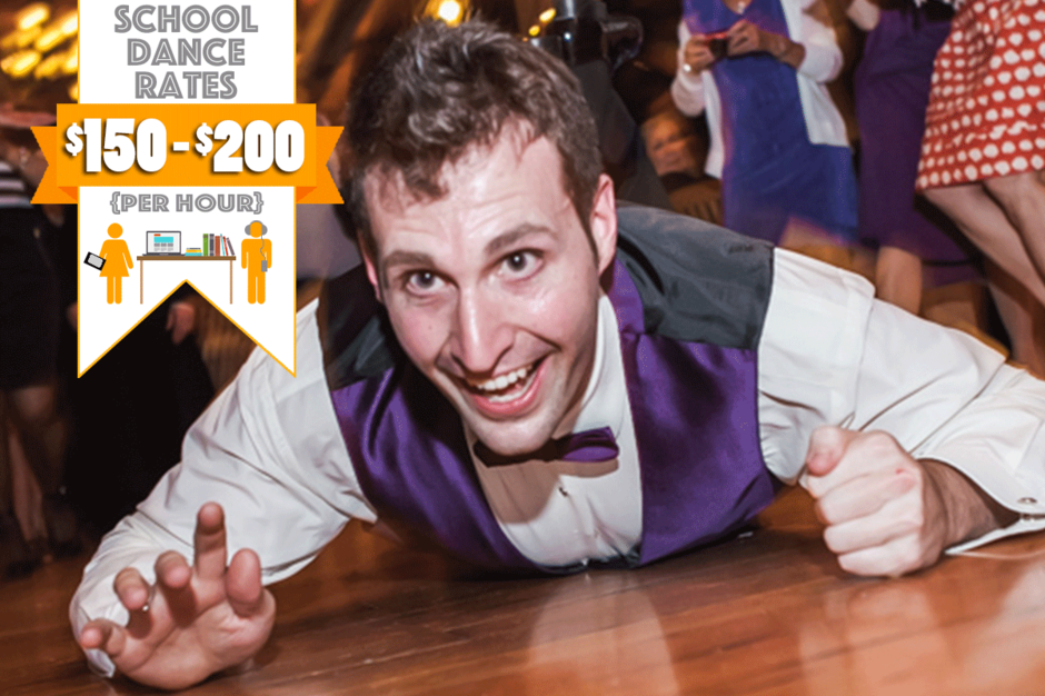 Stumptown DJs School Dances - Photo of the crowd at a school dance