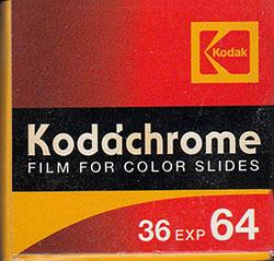 35MM slide film kodachrome 64