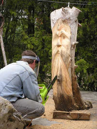 Woodwork chainsaw wood carvers pdf plans