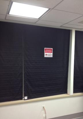 Laser Blocking Window Coverings Beamstop R