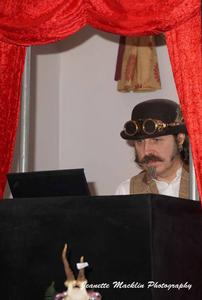 Steampunk DJ at Surrey Convivial