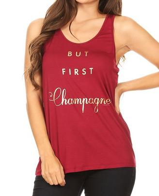 But First Champagne Burgundy