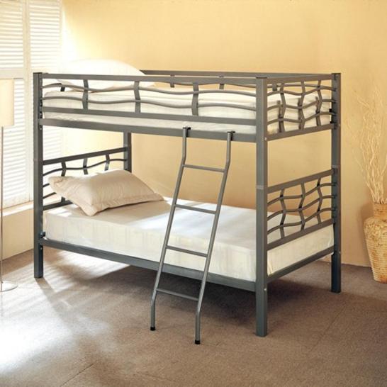 e00016171474b Coaster  7395 Twin over Twin Bunk Bed