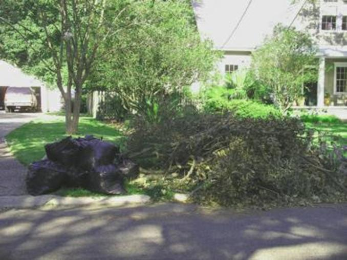 LAWN TRASH REMOVAL SERVICES
