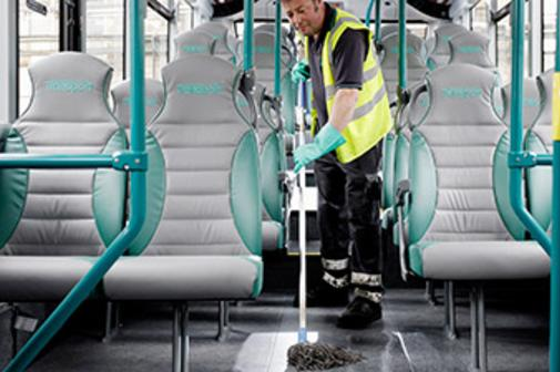 BUS CLEANING FROM MGM Household Services