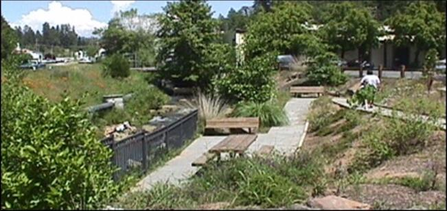 Ivy House Creekside Garden Project Community Pride Volunteers Placerville California