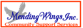 Mending Wings Inc. Official Logo