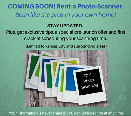 Rent a photo scanner newsletter signup