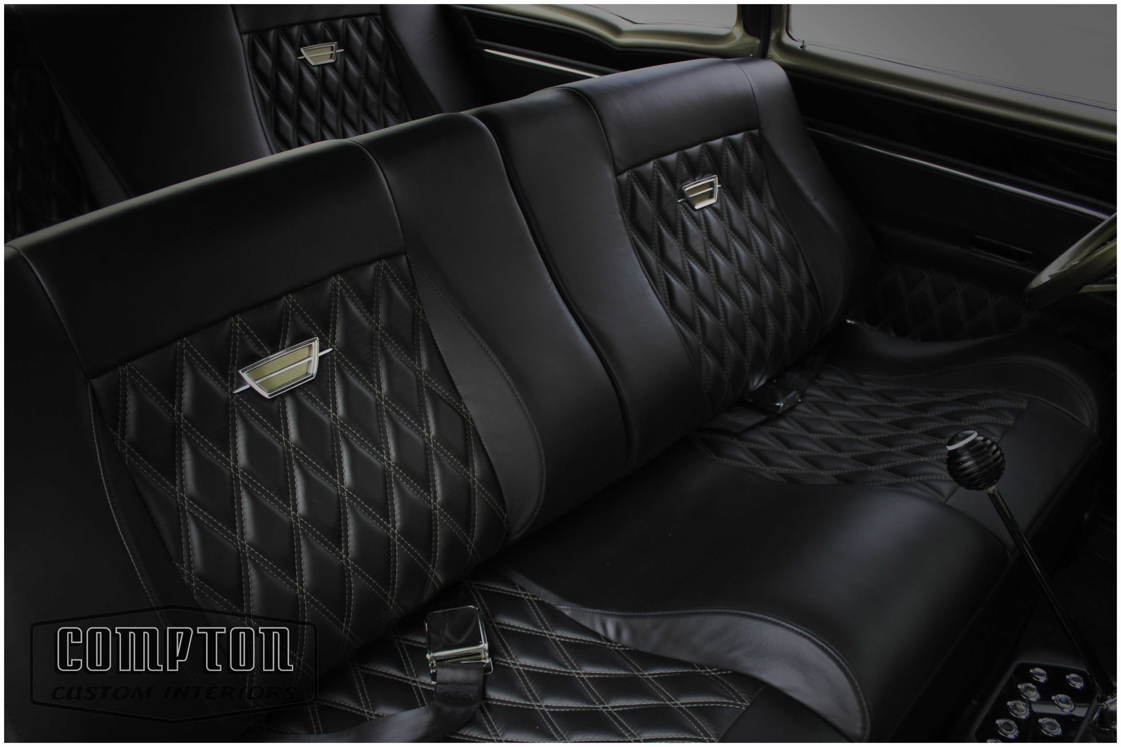Compton custom interiors has over 50 years combined experience in the automotive interior and audio business our staff has been designing and building