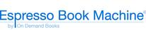 Logo of Espresso Book Machine - On Demand Books. Live links