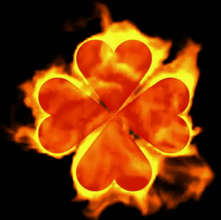 Burn away problems Saint Patrick's Day fire spell