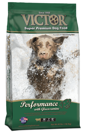Victor Performance dog food with Glucosamine for Joint health