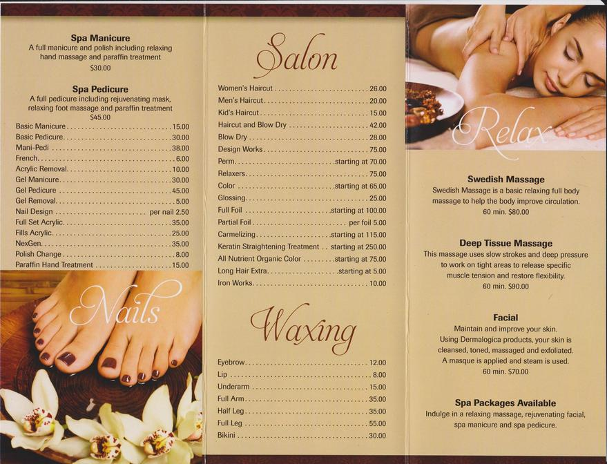 Our Menu of Services