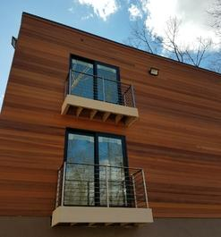 Clear Western Red Cedar Tongue and Groove Siding