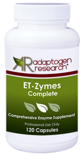 Adaptogen Research ET-Zymes Complete -120 Capsules