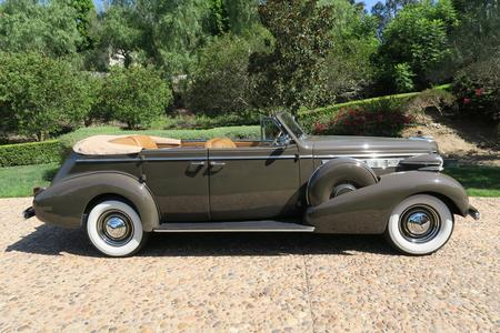 1938 Buick Roadmaster 4dr Phaeton Convertible (Model 80-C) for sale at Motor Car Company in San Diego California