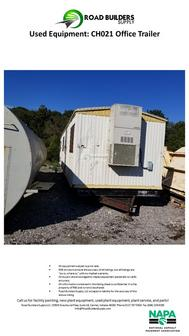 Office Trailer for Asphalt Plants