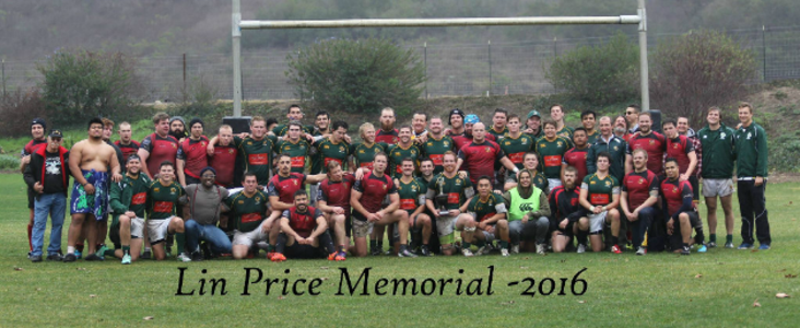 Lin Price Memorial Rugby Game