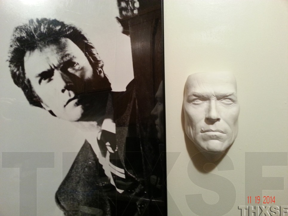 Dirty Harry Life Size Bust