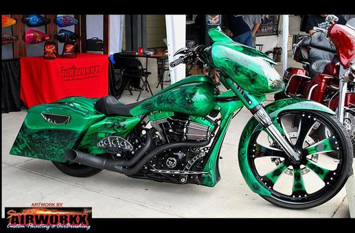 Sinister Airworkx Custom Motorcycle Paint Custom Painting Airbrushing Motorcycle Helmet Painting