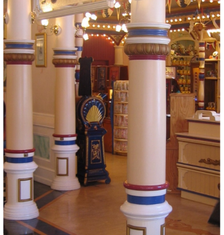 Custom Design wood columns