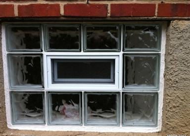 Glass block window options for Glass block options