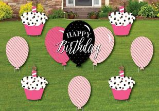 Birthday Yard Sign Packages