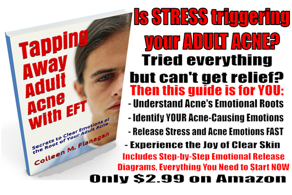 Tapping Away Adult Acne via EFT