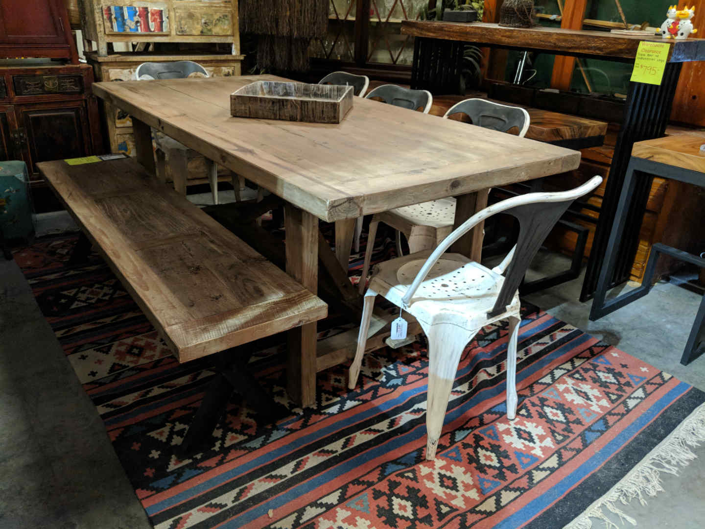 Rustic Farmhouse Dining Tables Solid Wood Furniture From Decor - Farmhouse conference table