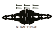 Strap Hinge Hardware - Western Red Cedar Wood Fencing Company In Chicago