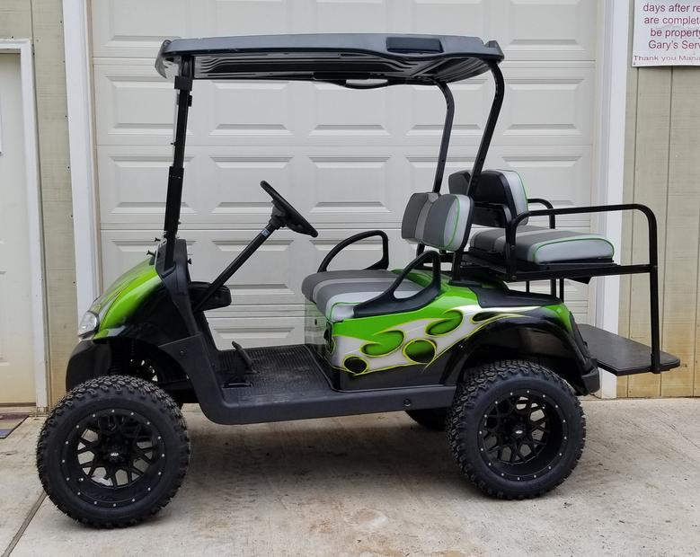 Inventory Golf Cart Covered In Lights Html on