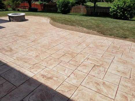 STAMPED CONCRETE PATIO CONTRACTOR SERVICE HENDERSON NEVADA