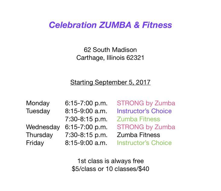 Celebration Zumba & Fitness