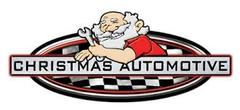 Christmas Automotive Repair Logo