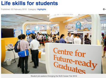 NUS News Feb 2016 Life Skills for Students