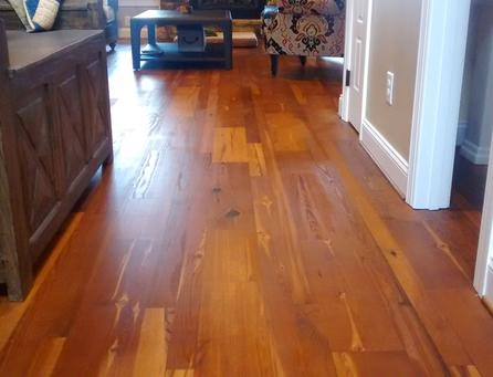 Heart Pine And Cypress Hardwood Flooring From Old Town Wood Floors