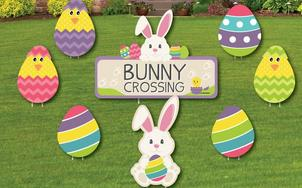 Easter Lawn Sign Packages