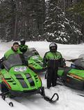 Indian Lake Snowmobiling