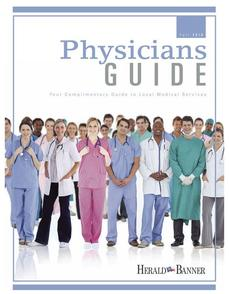 Greenville TX 2016 Physicians Guide Kathy Wanderer
