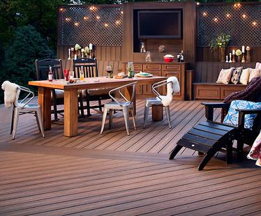 Composite deck materials is extremely durable.