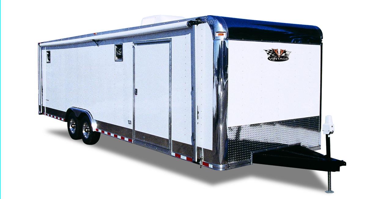 Vintage Trailers Ltd - race car haulers, enclosed trailer, trailer mfg