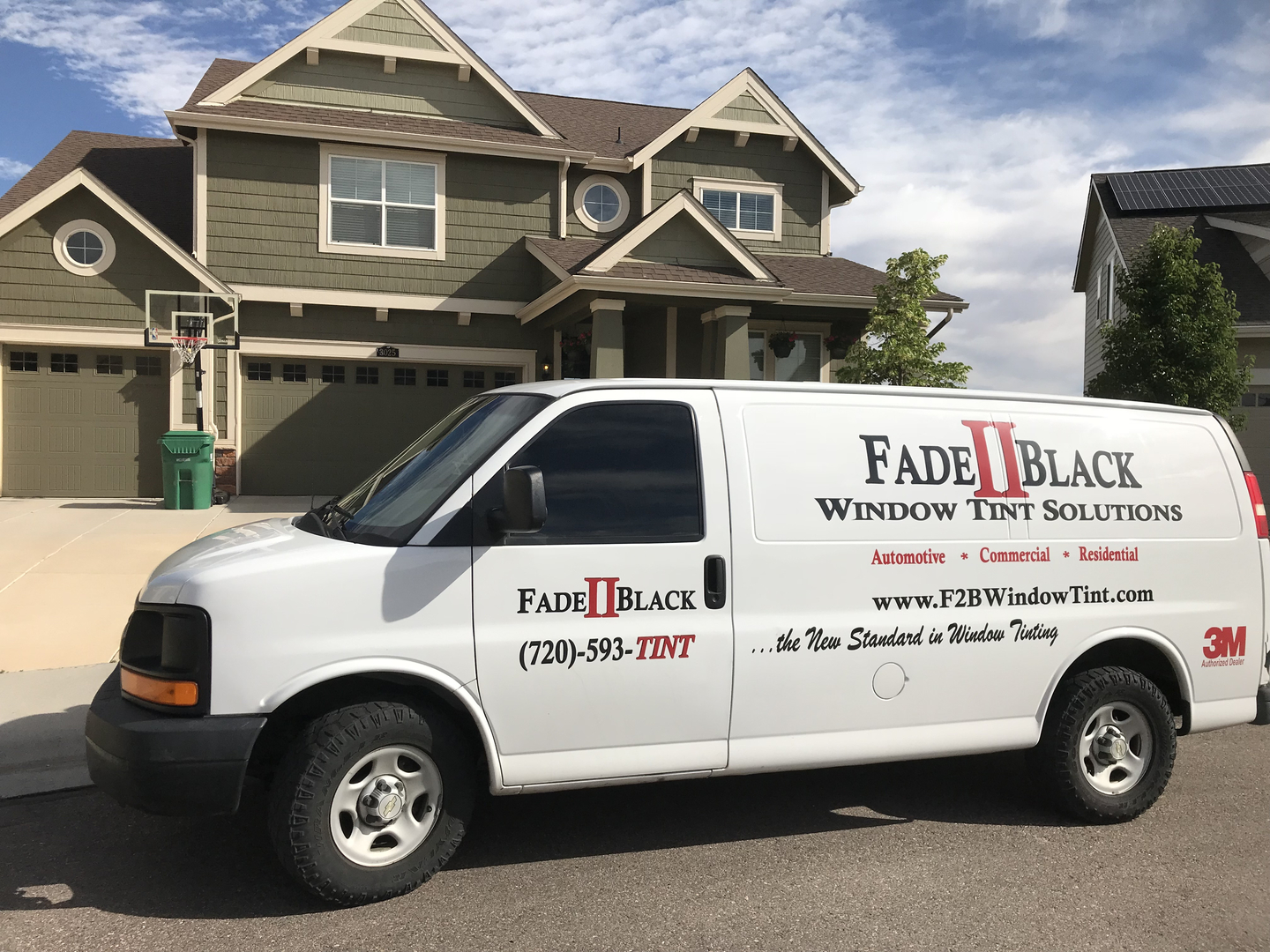 Residential Window Tint Services at Fade II Black